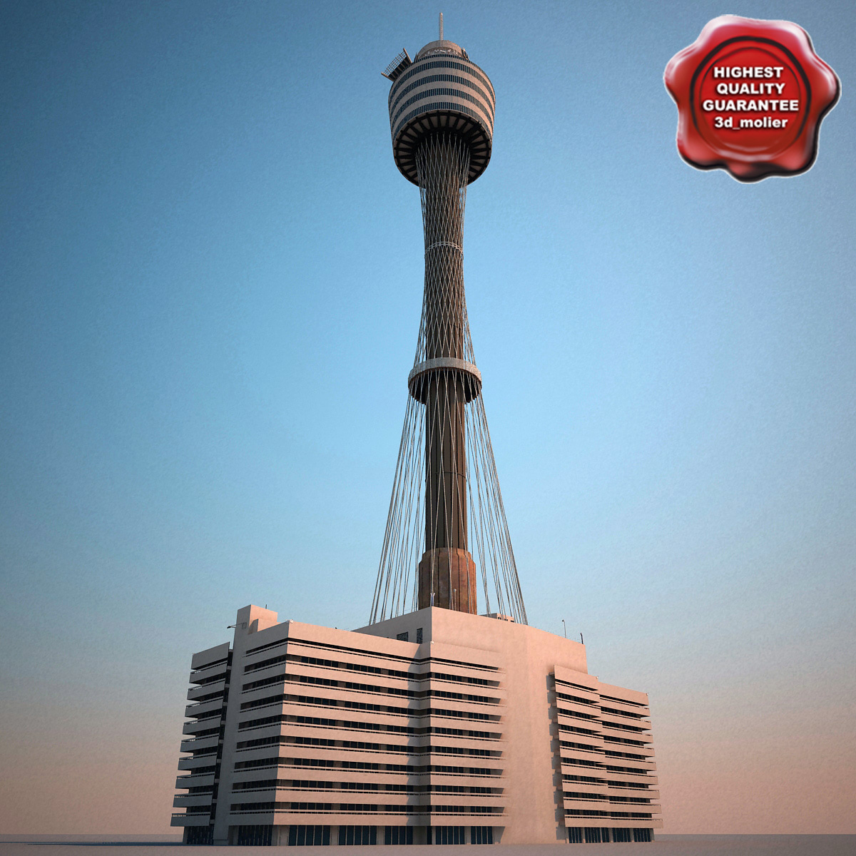 3d sydney tower