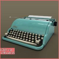max vintage typewriter