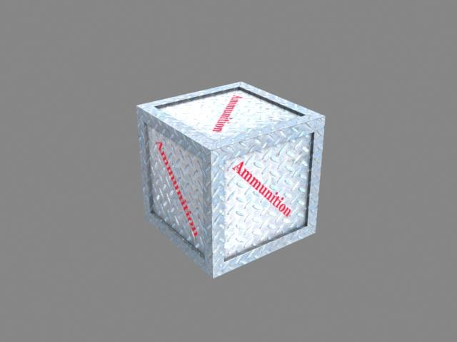 3ds max crate