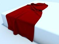 3d cloth model