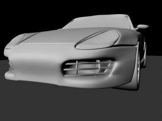 cabrio 3d model
