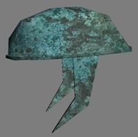 warrior helmet 3d max