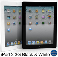 3d model of apple ipad 2 3g