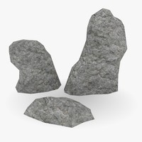 japan stone 3d max