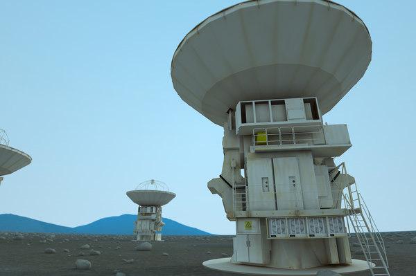 maya antenna radio telescope