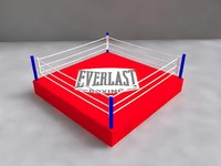 free boxing ring 3d model