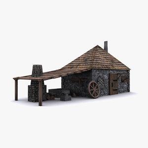 3ds max blacksmith smith