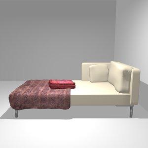 sofa day bed obj