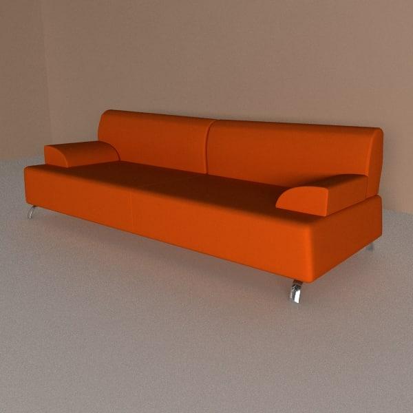 3d sofa openspace