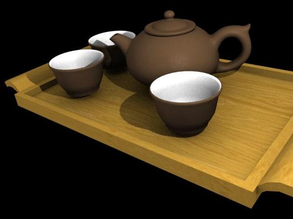 asian tea set blend free