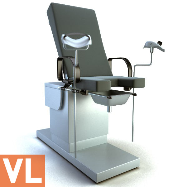 gynecological chair 3d max