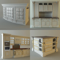 3ds product kitchen cabinets appliances