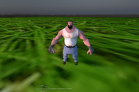 3d ready character