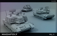 3d model set collection