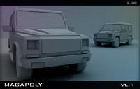 3ds max jeep
