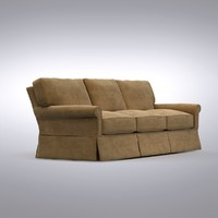 Crate and Barrel - Bayside 3-Seat Sofa