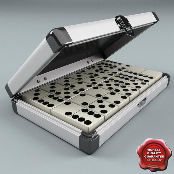 domino box set 3d model