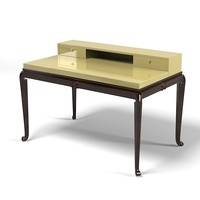 Elledue elle due As 417 c lady desk table vanity makup