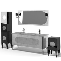 IL TEMPO DEL art deco neo classic neoclassic bathroom furniture