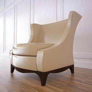 3d model corsica club chair