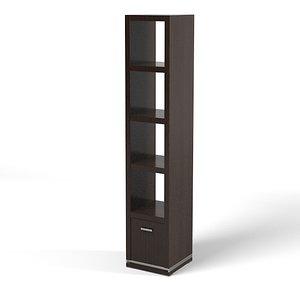 mobilidea etagere modern 3ds