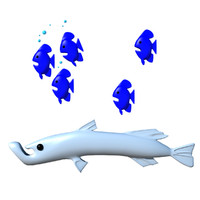 maya cartoon fish