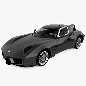 3d supercar spada codatronca model