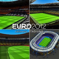 Euro Ukraine Stadiums Collection