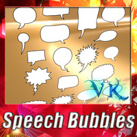23 Speech Bubbles collection