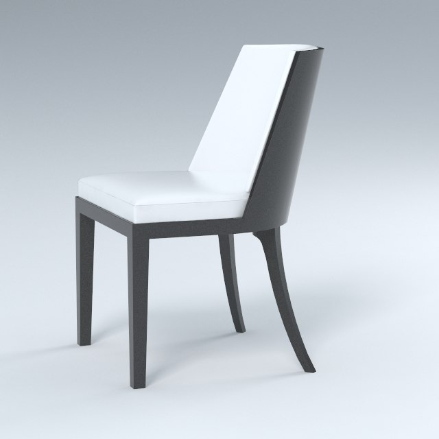 3ds chair dining materials