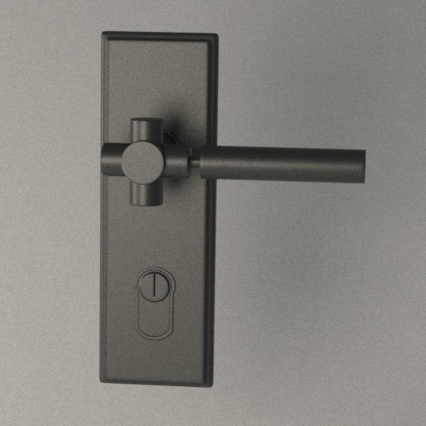3dsmax door handle