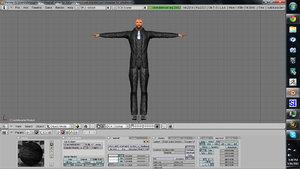 3d model man tuxedo