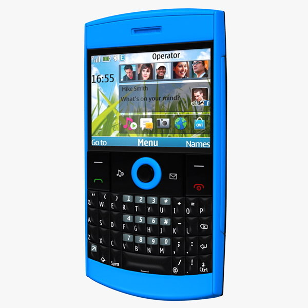 3d nokia mobile phone model