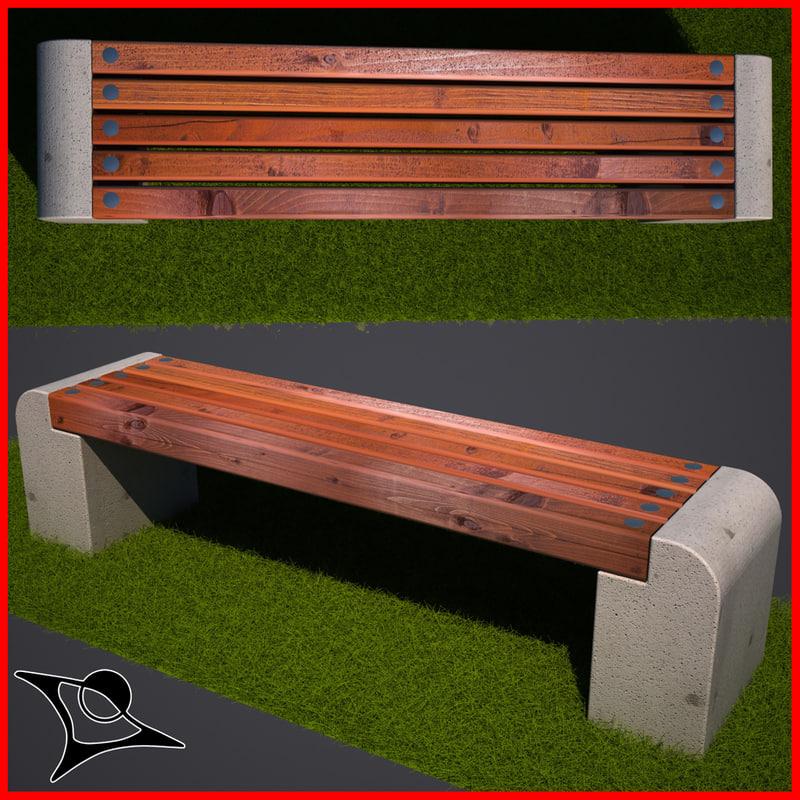 bench public max