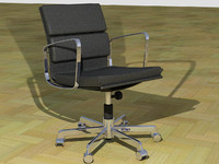 realistic chair 3ds