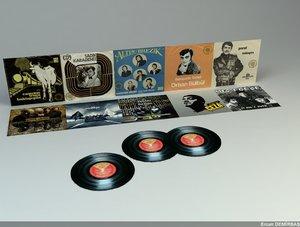 gramophone record 3d model