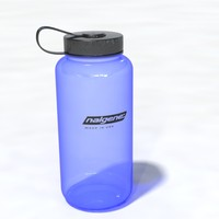 nalgene logo easily 3d model