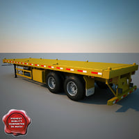 Container Semi Trailer