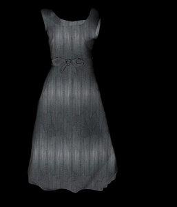 3d model dress