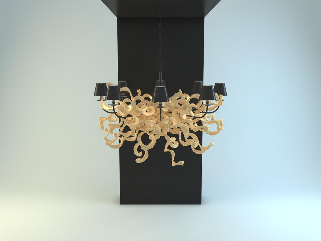 3d model charrell eichholtz lamp