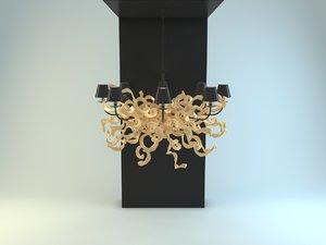 3d model charrell eichholtz lamp