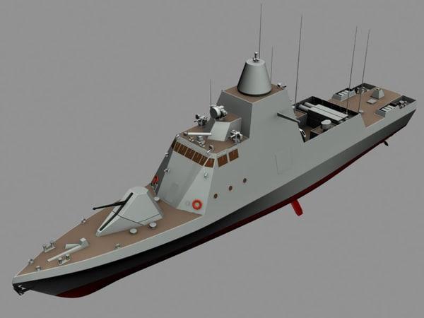 3ds max falaj ship united
