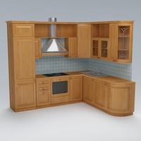 kitchen 3d dxf