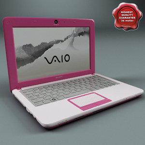 max laptop sony vaio pink