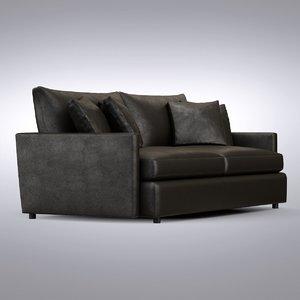 crate barrel - lounge 3d max