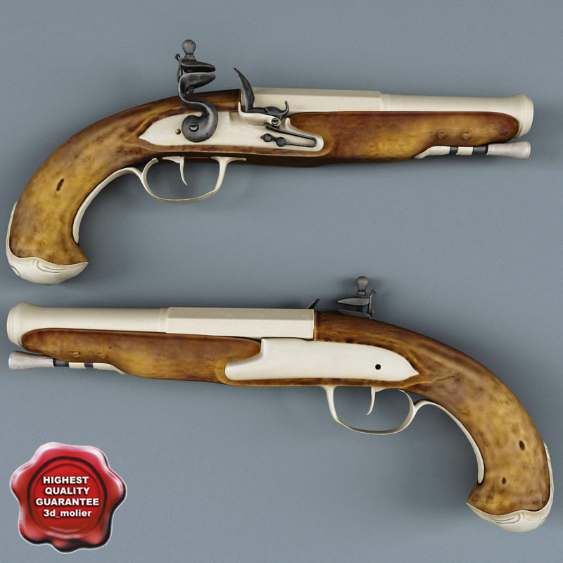 Old Musket Pistol V2