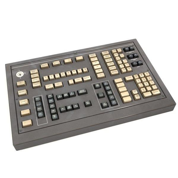 keyboard deck control panel 3d model