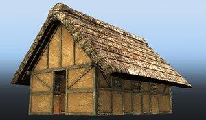 3d saxon house