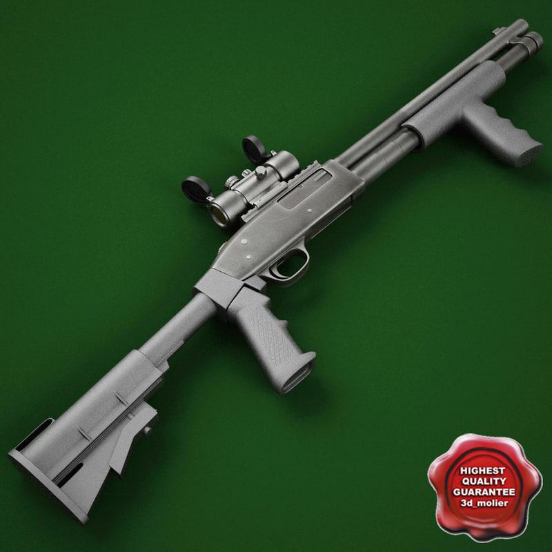 3ds shotgun mossberg 590a tactical