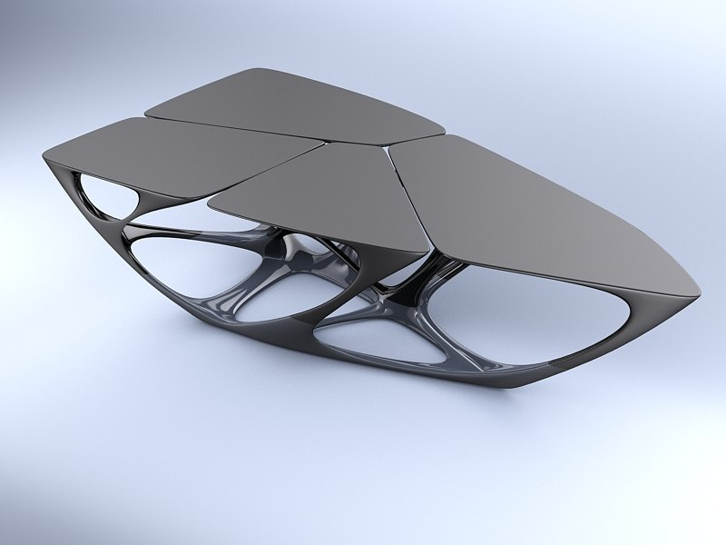 table edition vitra 3d max